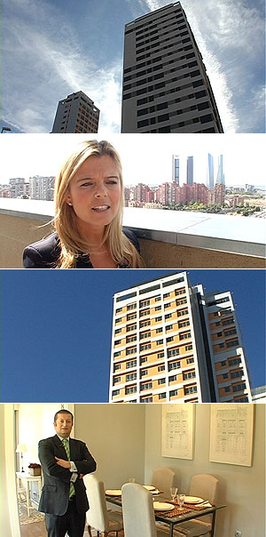 Torre Gestesa Chamartín y Torre Ámbar | Itxaso Glez. Navidad [Ver álbum]