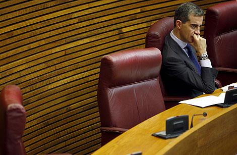 Ricardo Costa, en las Cortes Valencianas. | Vincent Bosch