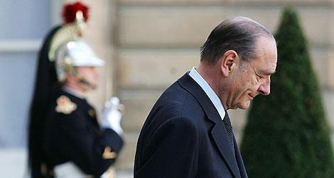 Jacques Chirac, en abril de 2006 en el Palacio del Elíseo. | AFP