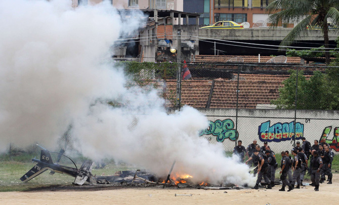 Alexandre Brum / O Dia / Reuters