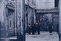 Interior del Palacio de Liria en 1937. | IPCE