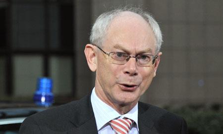 El primer ministro belga Herman Van Rompuy. | AFP