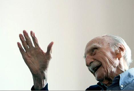 El escritor Francisco Ayala, en una imagen reciente. | José Aymà