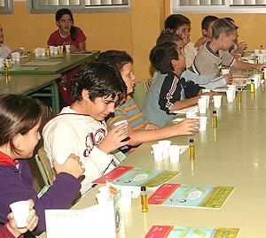 Un grupo de estudiantes en un aula