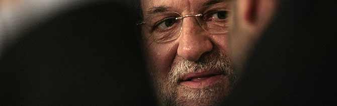 El presidente del Partido Popular, Mariano Rajoy (Foto: Antonio Heredia).