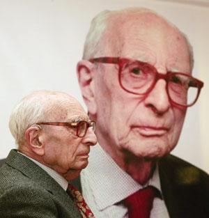 Claude Lévi-Strauss, en una imagen de 2005. | EFE