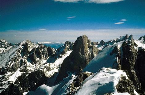 El Parque Nacional de los Picos de Europa. | Efe