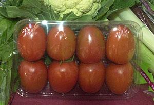 Una bandeja de tomates | Cati Cladera
