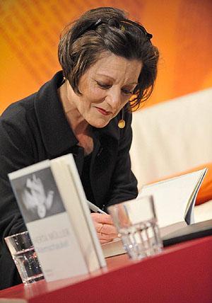 Herta Müller. |Foto: U.ANSPACH