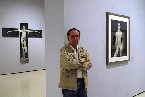Humberto Rivas, en la exposición que le dedicó la MNAC. | Quique García