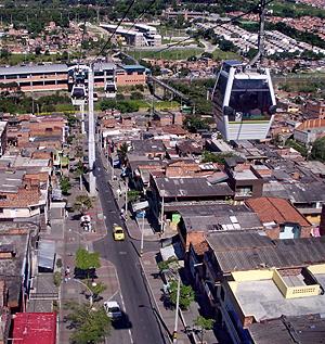 Metro Cable de Medellín. | W. Fernández