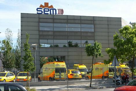 Sede central operativa del Sistema d'Emergències Mèdiques.   Antonio Moreno