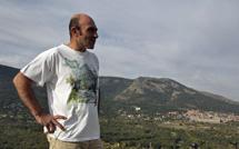 El naturalista Juan Luis Reguilón, en El Escorial.