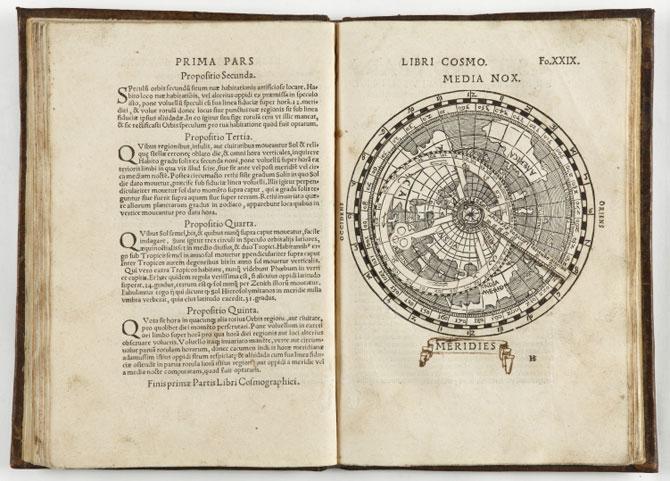 Fragmento de 'Aegidij Copenij', de Arnoldo Berckma[n]no, escrito en 1540.