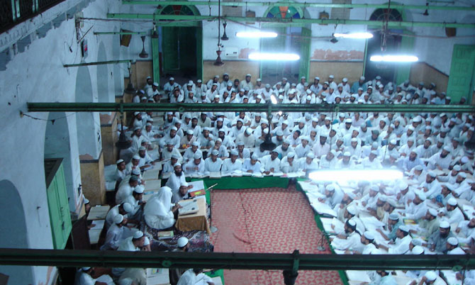 Reunión de clérigos musulmanes en Darul Ulum | Foto: M.Rashidi
