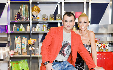 Jorge Javier Vázquez y Belén Esteban, presentadores de 'Sálvame'.