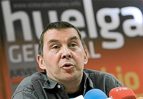 Arnaldo Otegi, ex portavoz de la ilegalizada Batasuna. | Efe