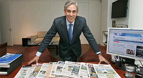 Antonio Fernández-Galiano, nuevo presidente de Aede. | Diego Sinova