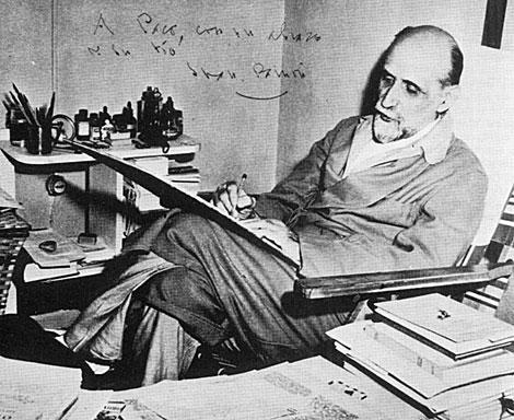Juan Ramón Jiménez, en una fotografía fechada en 1955. | El Mundo