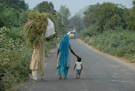 La India rural apenas tiene acceso a Internet. | Carlos Izquierdo Tobías