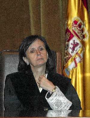 María Emilia Casas, presidenta del Tribunal Constitucional. (Foto: J. Martínez)