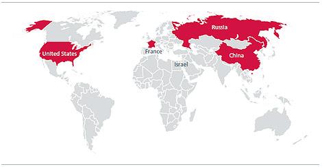 Países con mayor inversión en 'ciberdefensa'. | McAfee