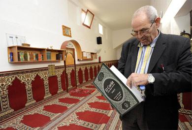 El gestor de la mezquita de Manlleu, Driss Enabruze. | M. Pich