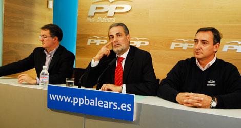 Rueda de prensa del PP.   Cati Cladera