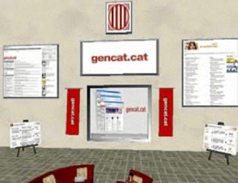 La isla virtual de la Generalitat. | Gencat