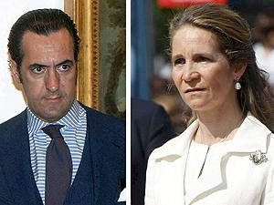 Jaime de Marichalar y la Infanta Elena. | Efe
