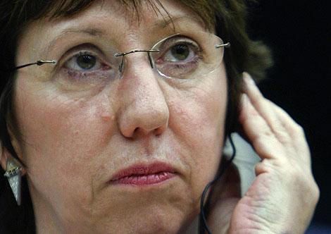 La comisaria Catherine Ashton. | Reuters