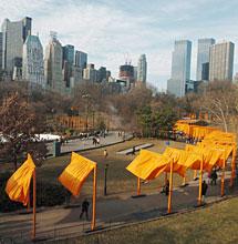 'Puertas' en Central Park. | Efe