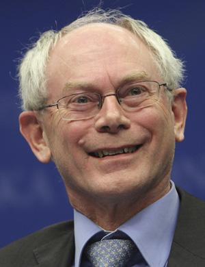 El nuevo presidente del Consejo Europeo, Herman van Rompuy. | AP