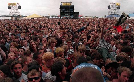 Público en un concierto del Festival de Reading. | INS