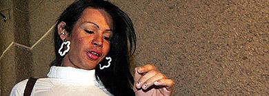 Brenda, la transexual que provocó la dimisión de Marrazzo. | Reuters