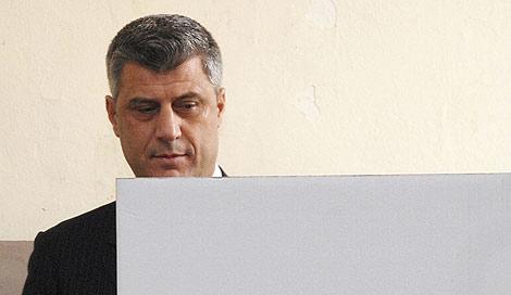 El primer ministro de Kosovo, Hashim Thaci.   Reuters