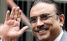 El presidente Asif Ali Zardari. | Efe