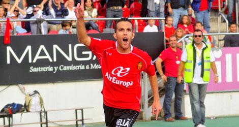 Imagen de un partido anterior del Mallorca. | Alberto Vera