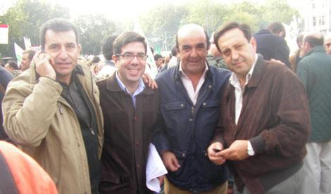 Biel Company junto a Pedro Barato, Presidente de ASAJA