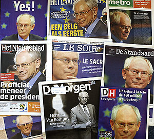 Van Romouy, el primer presidente de la Unión Europea es un bilderburger
