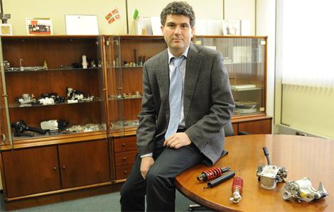 Ricardo Romo, director de la empresa RPK, en su despacho. | Pablo González