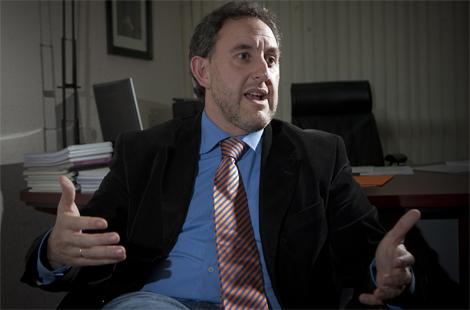 Alfonso Gil, secretario de organización del PSE. | Carlos García