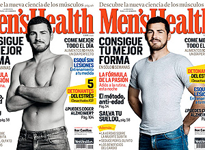 Iker Casillas, portada de 'Men's Health'.