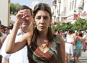 Belén Ordóñez en la tradicional corrida goyesca. | El Mundo