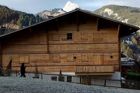 El chalé 'Vía láctea', la propiedad de Roman Polanski en la estación de esquí de Gstaad, Suiza. | Efe