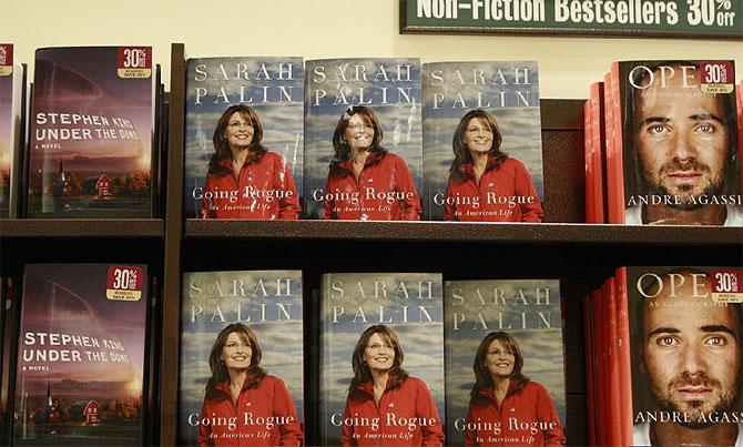 Una librería norteamericana exhibe sus 'best sellers'. (Foto: EFE)