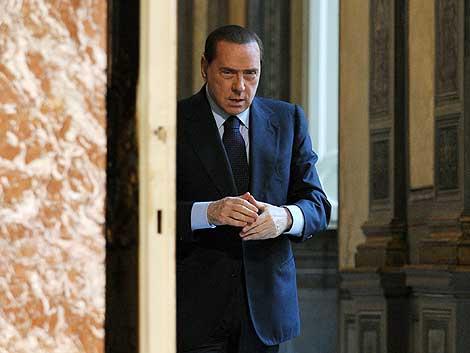 El primer ministro italiano, Silvio Berlusconi.   AFP