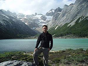 Noel Lau, en tierras chilenas.