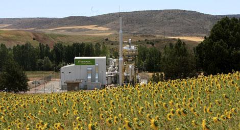 Planta de biomasa forestal de Iberdrola en Guadalajara. | José Aymá