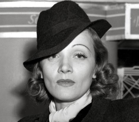 La actriz Marlene Dietrich, en 1938. | AP